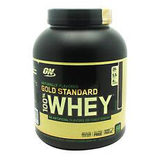 4x Optimum Nutrition 100 Whey Gold Standard Naturally Vanilla 4.8 Lbs 2.18kg