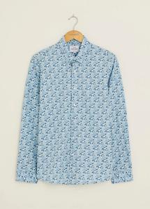 Peter Werth New Mens Bloomfield Long Sleeved Shirt - Light Blue