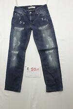 Levi's 511 Slim Wild Boar (Cod. E551) Tg45 W31 L34 jeans ACCORCIATO usato
