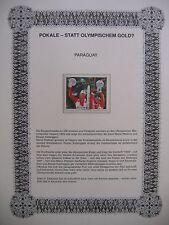 Irrtümer auf Briefmarken / Paraguay 1987 Mi 4180 : P. Zurbriggen + M. Wallisser