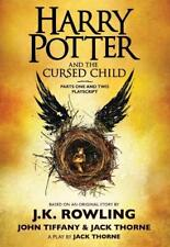 HARRY POTTER AND THE CURSED CHILD - Free Shipping-New-Unread-Paperback-