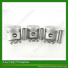 Piston Set STD for Mitsubishi K3F  (100% Taiwan Made) x 3 PCS