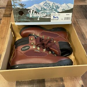 Vasque Skywalk Goretex Hiking Boots Mens Size 10 Brown Leather