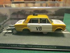 JAMES BOND CARS COLLECTION 026 LADA 1500 THE LIVING DAYLIGHTS