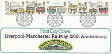 (91381) el aclaramiento GB Ferrocarril Book Club FDC Liverpoool Manchester 12 Mar 1980