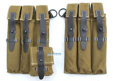 WWII GERMAN WH MP38 MP40 AMMO AMMUNITION MAGAZINE POUCH