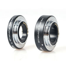 Commlite Metal Automatic AF Macro Extension tube set for Micro M4/3 Mount OM-D G