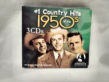 Rare #1 Country Hits Of The 1950's Import 2 CD Set Various Artists        cd6277
