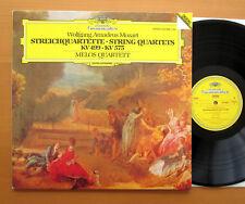 DG 410 998-1 Mozart String Quartets K499 & 575 Melos Quartet 1984 NEAR MINT LP