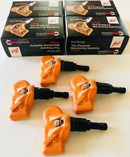HUF TPMS Sensors Black Valve Stems Set RDE008 BMW 335xi 330i 335i 328i (4 pcs)