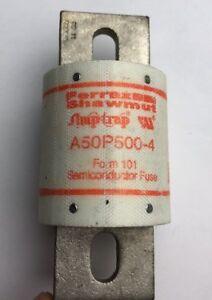 NEW Ferraz Shawmut A50P500-4 Amptrap Form 101 500A Fuse Open Stock Inventory