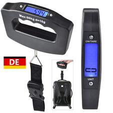 Digitale Kofferwaage bis 50 KG Gepäckwaage Reisewaage Handwaage Luggage Scale DE