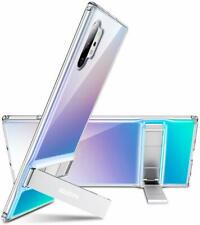 Samsung Galaxy Note 10 Plus Case Kickstand Flexible TPU Slim Hard PC Clear