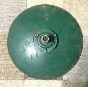 """45-733 - A New Complete 14"""" Disc Hiller Blade For Cole Planters W/ Bundle 44-400"""