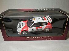 AUTOArt 1/18 Scale Toyota Corolla WRC 1998 Rally Portugal Race Car Diecast Model