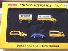 Wiking Post PMS 81-18 Edition Historica 4 Postbrauerei Frontenhausen 1:87 m. OVP