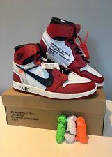 Les dix Collection: Air Jordan 1 x Virgil Abloh-Nike-Blanc cassé-UK10/US11