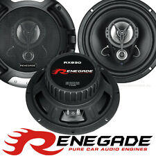 Renegade RX830 20cm 3-Wege Auto Lautsprecher Boxen PKW Heck Hutablage 300 Watt