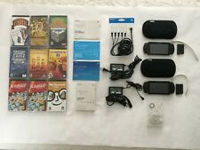 Sony PSP Bundle includes two consoles, accessories, 8 games and 1 language UMD