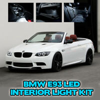 17pc BMW E93 CONVERTIBLE LED LIGHT BULB KIT INTERIOR FOOTWELL BOOT GLOVE BOX M3
