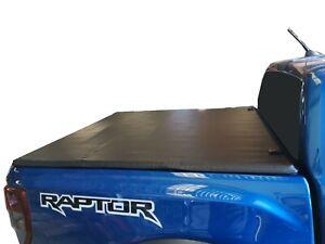Tough Soft Tonneau Cover for Ford Ranger 2011-20 PX Raptor Dual Cab Foldable