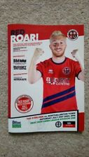 Redcar Athletic v. Northallerton Town 31/7/21 Northern League Division 1