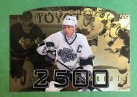 WAYNE GRETZKY 1995 SP 2500 DIECUT FOIL INSERT LOS ANGELES KINGS OILERS RANGERS