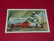 CHROMO 1920-1925 MARGARINE HOYER ROSTOCK N°2 WIE MAN SCHLÄFT MOSKITONETZ AFRIQUE
