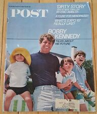 SATURDAY EVENING POST AUGUST 26 1967 BOBBY KENNEDY EXPO 67 MENOPAUSE DIRTY STORY