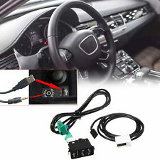 AUX USB Socket Switch + AUX USB Cable For BMW E60 E61 E63 E64 E87 E90 E70 F25