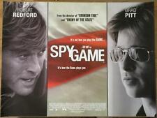 Spy Game - Original UK Quad Poster 40 x 30 inches - Robert Redford Brad Pitt