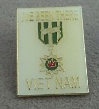 """US Armed Forces Vietnam Veteran Pin / """" I've Been There"""" / Clutchback"""