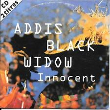 CD SINGLE 2 TITRES--ADDIS BLACK WIDOW--INNOCENT--1995