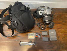 Canon EOS Digital Rebel XTi / EOS 400D 10.1MP Digital SLR Camera - Silver & MORE