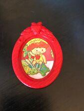 Vintage Strawberry Shortcake APPLE DUMPLIN WALL PICTURE Berry Happy Home  1983