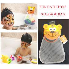 Kids Mesh Bag Baby Bath Tub Tidy Toys Net Pouch Organiser Storage Holder Suction