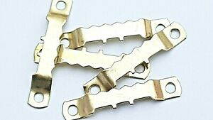 Saw Tooth Hangers 45mm Brassed Picture Canvas Frame Hanging Multi List