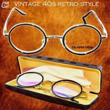 Titanium Alloy with box Senator round retro classical duke's reading glasses+1 +