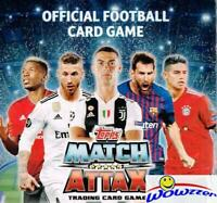2018/19 Topps Match Attax Champions League Soccer HUGE 50 Pack Sealed HOBBY Box!