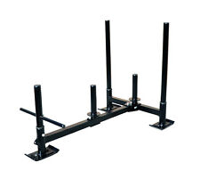 Weight Sled Low Push Pull Heavy High Crossfit Training 600 lbs
