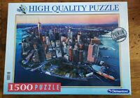 JIGSAW PUZZLE 1500 PIECES NEW YORK BRAND NEW SEALED CLEMENTONI HIGH QUALITY!