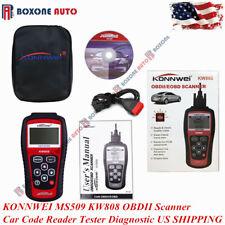 KONNWEI MS509 KW808 OBDII Scanner Car Code Reader Tester Diagnostic US SHIPPING