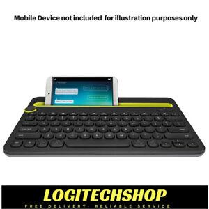 Logitech K480 Bluetooth Multi-Device Keyboard - Black (Free postage)