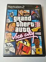 Grand Theft Auto: Vice City (Sony PlayStation 2, 2002) PS2 GTA Complete Game CIB
