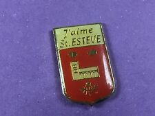 pins pin ville village BLASON SAINT ESTEVE
