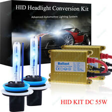 55W HID Headlight Conversion KIT FOR H4 H7 H1 H3 H8 H11 9005 9006 HI/LO BI-XENON