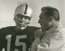 AL DAVIS & TOM FLORES 8X10 PHOTO OAKLAND RAIDERS LA PICTURE NFL FOOTBALL