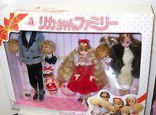 #1383 Nib Takara Japan Licca Family Boxed Set