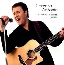 Canta Rancheras y Mas Lorenzo Antonio CD Latin pop 2005 limited edition Striking