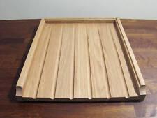 solid wood oak worktop/belfast sink drainer
